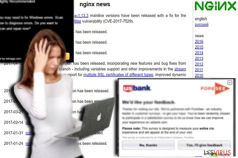 Die dazugehörige Webseite nginx.org
