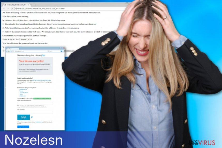 Nozelesn-Erpressersoftware