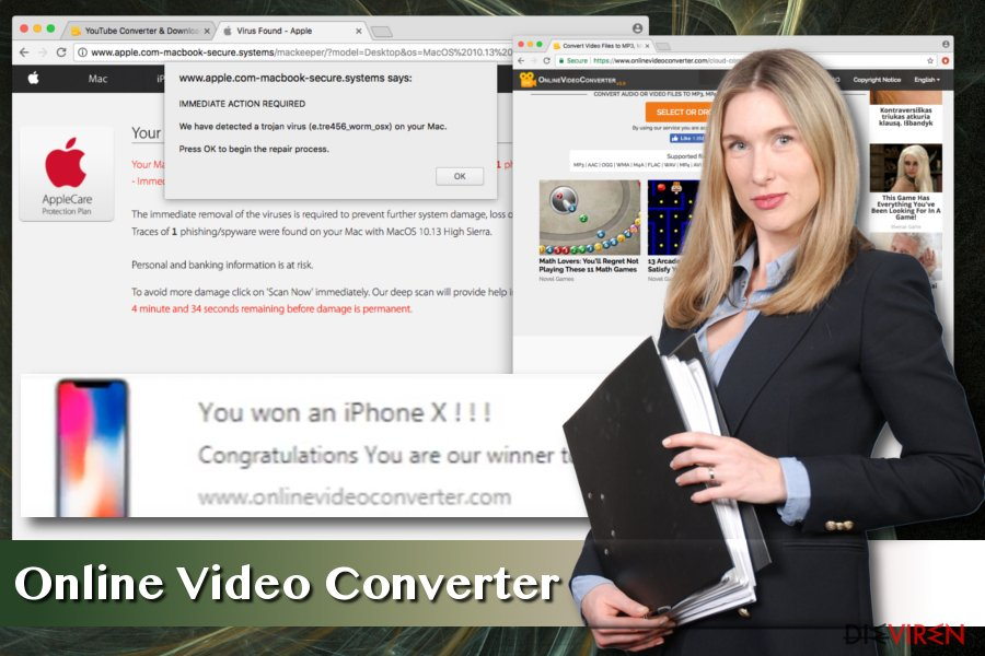 Online Video Converter-Virus