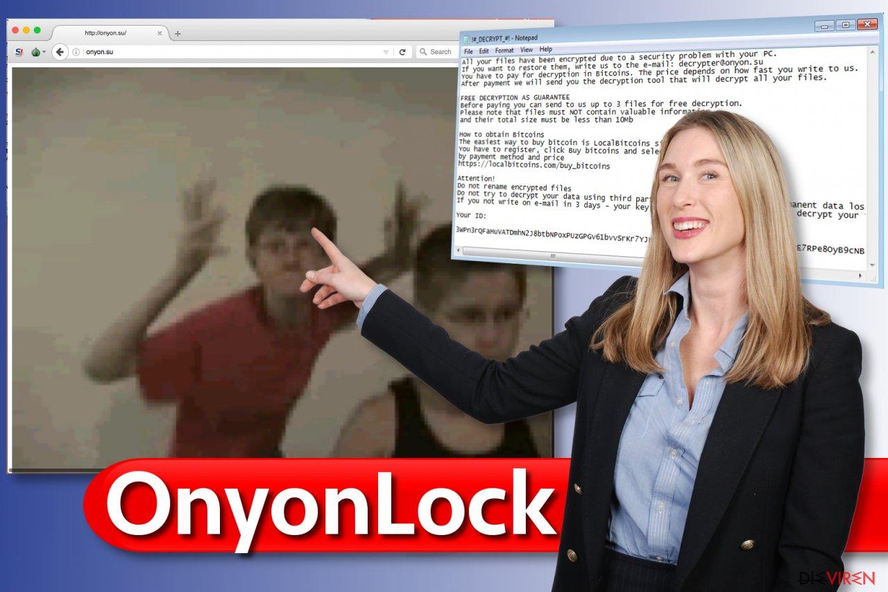 OnyonLock-Erpressungsprogramm