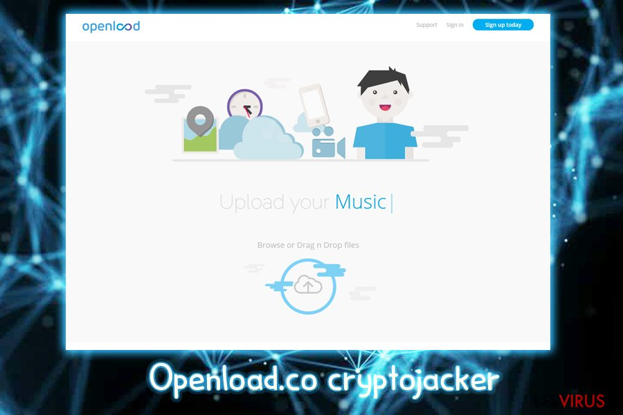 Openload.co-Kryptojacker