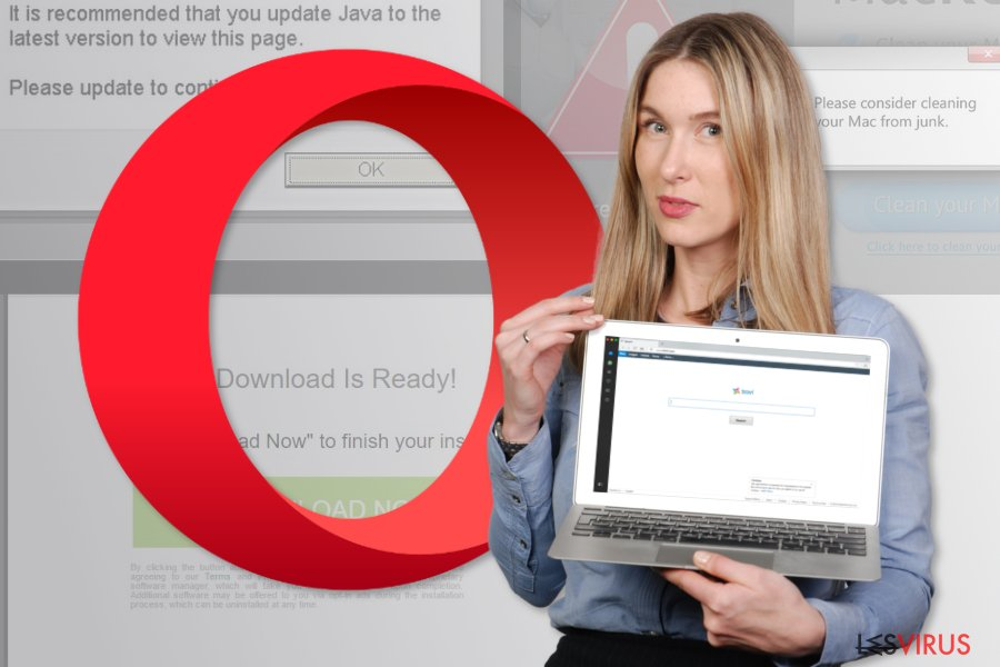 Abbildung Opera-Weiterleitungsvirus