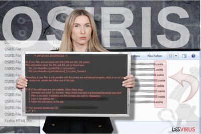Osiris ransomware virus