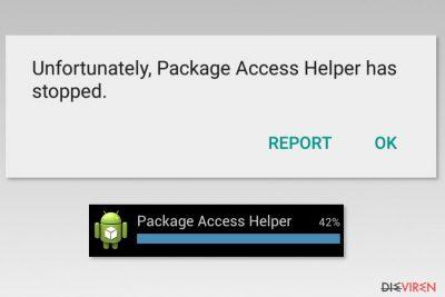 Beispiele Package Access Helper-Fehler