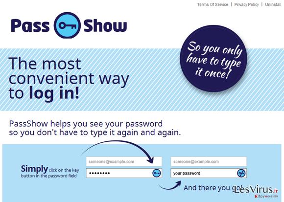 PassShow-Anzeigen-Screenshot