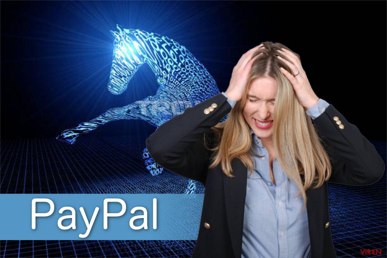 Illustration PayPal-Virus
