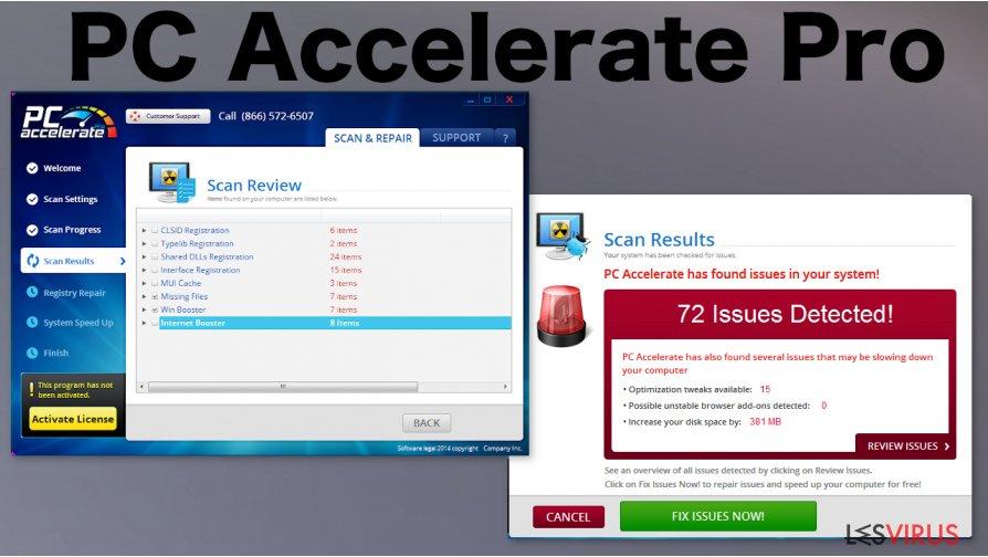 PC Accelerate Pro-Screenshot