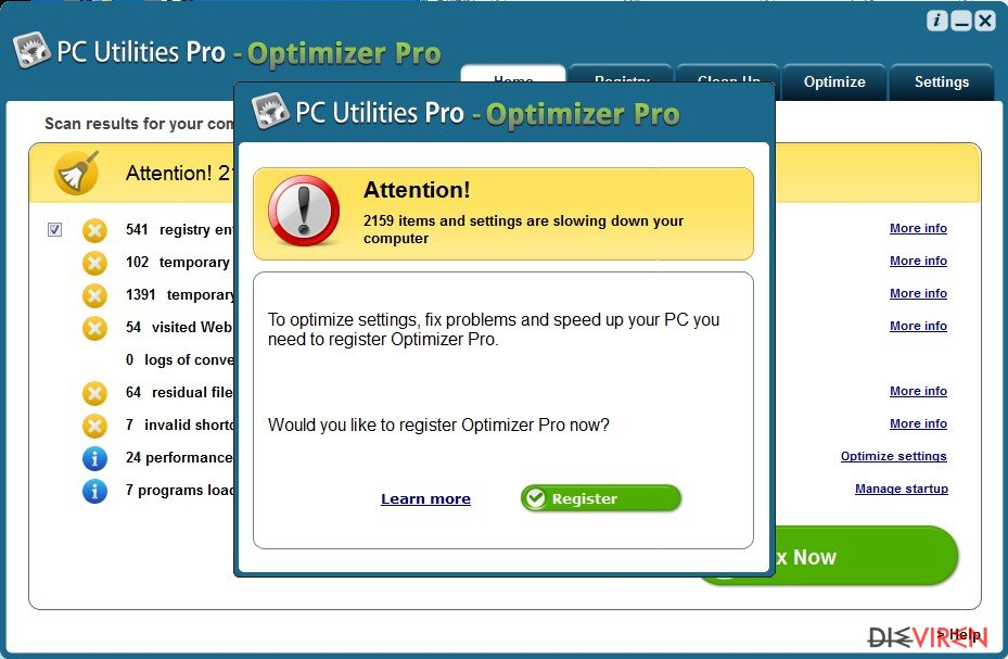 PC Utilities Pro – Optimizer Pro-Screenshot