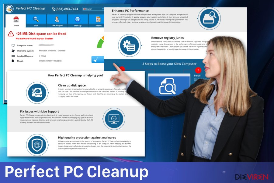 Adware Perfect PC Cleanup