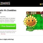 Plants Vs Zombies-Screenshot