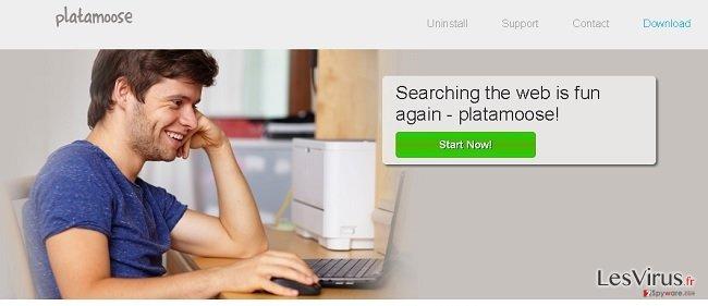 Anzeigen von platamoose-Screenshot