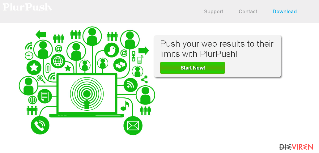 PlurPush-Screenshot
