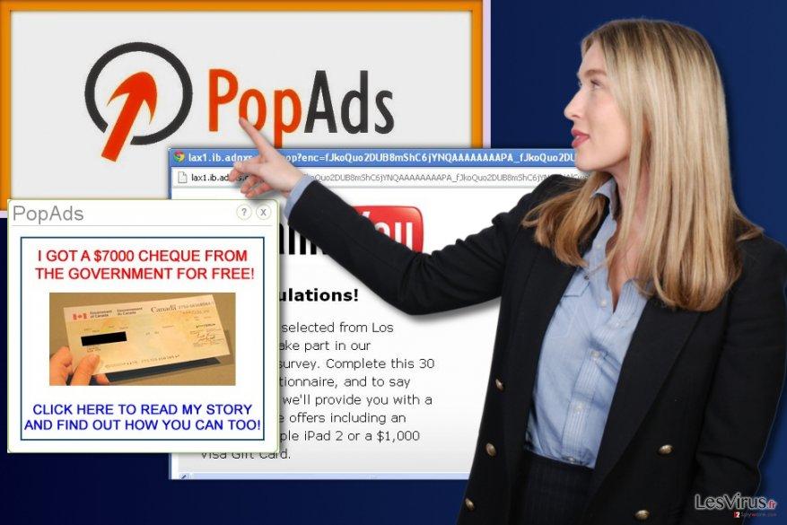 PopAds-Werbung