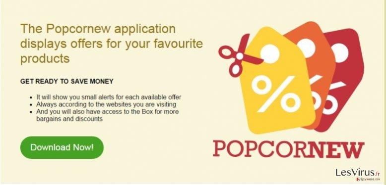 Anzeigen von Popcornew-Screenshot