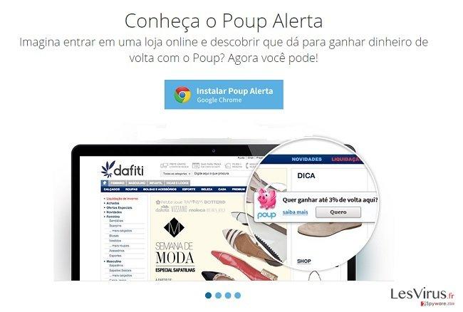Poup-Alerta-Anzeigen-Screenshot