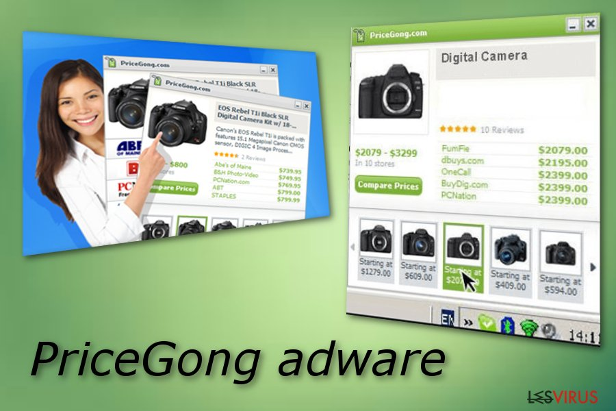 PriceGong-Screenshot