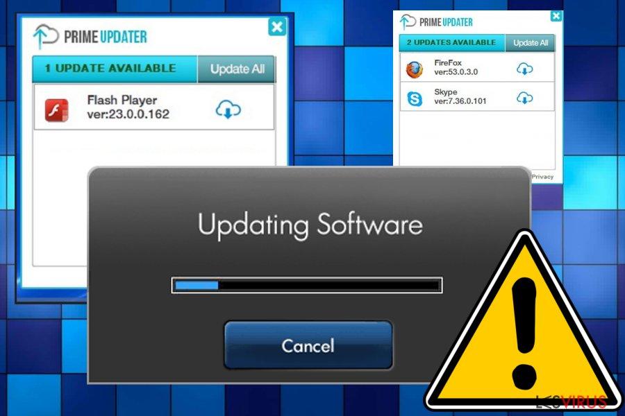 Prime Updater-Screenshot