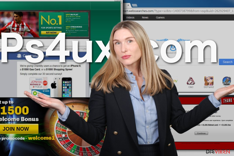 Abbildung Ps4ux.com-Virus