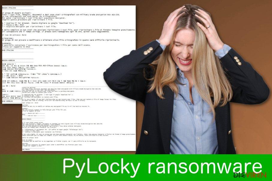 PyLocky-Ransomware