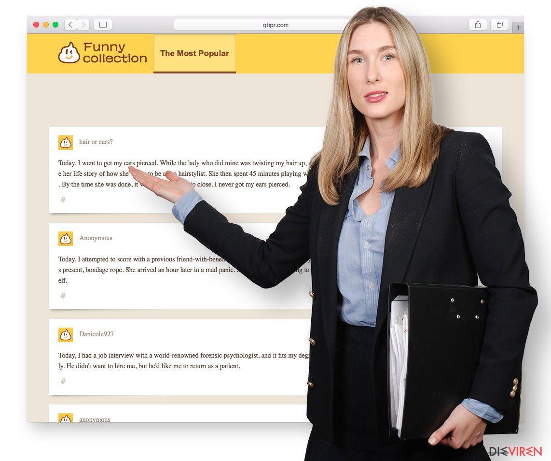 Beispiel Qtipr.com