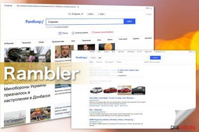 Screenshots Rambler-Search-Virus