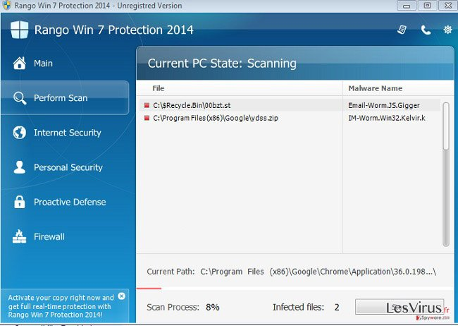 Rango Win 7 Protection 2014-Screenshot