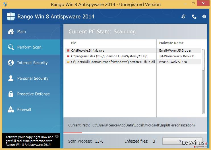 Rango Win 8 Protection 2014-Screenshot