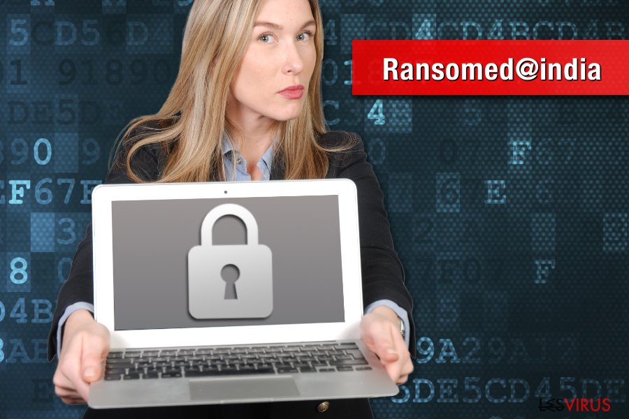 Ransomed@india-Erpressersoftware