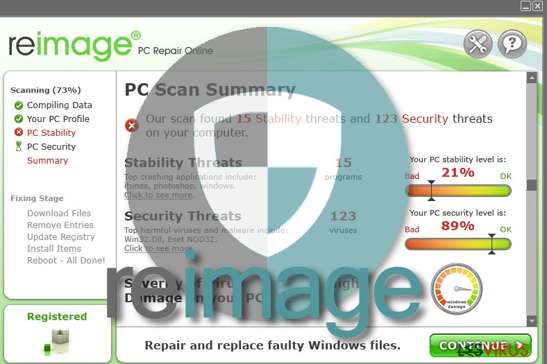 Reimage-Virus-Screenshot