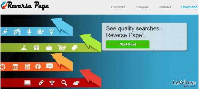 Anzeigen von Reverse Page-Screenshot