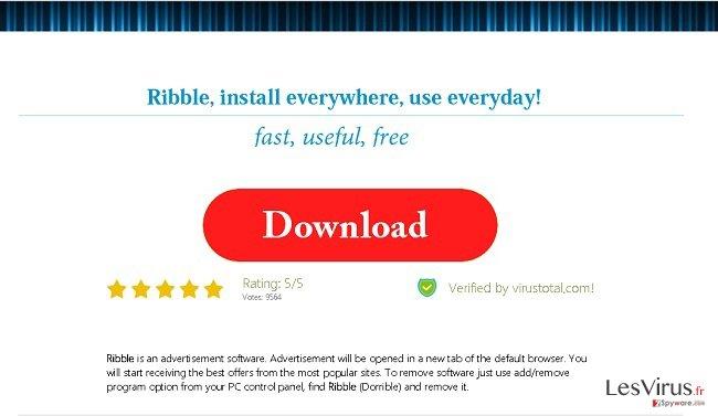 Anzeigen von Ribble-Screenshot