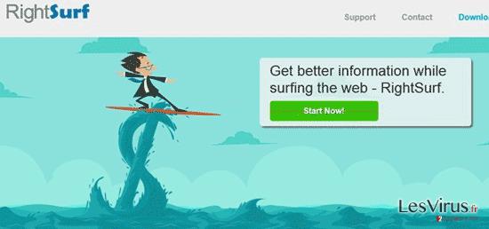 RightSurf-Anzeigen-Screenshot