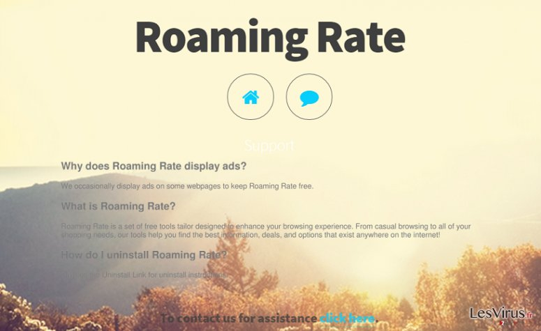 Roaming Rate-Screenshot