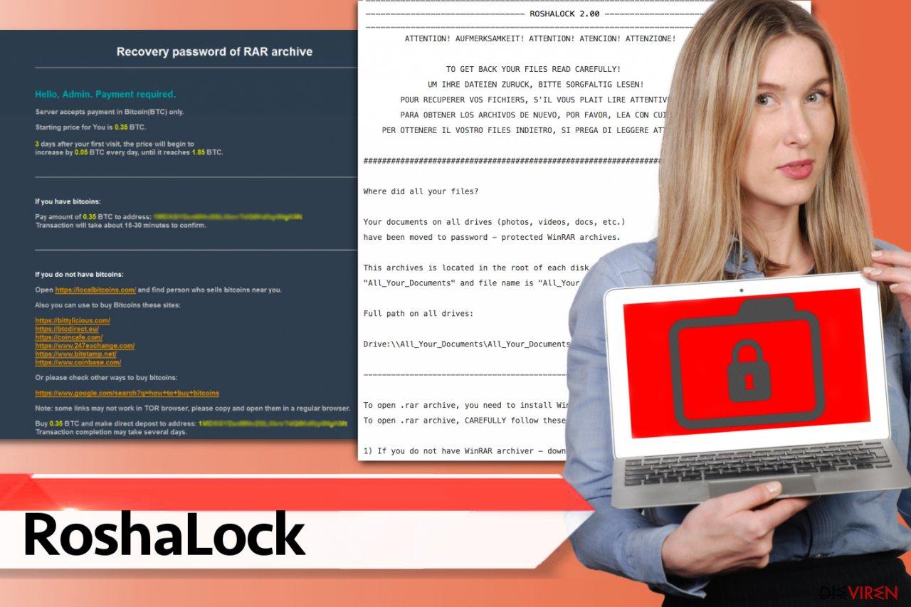 RoshaLock-Erpressungsprogramm