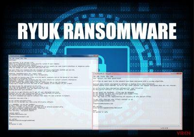 Die Erpressersoftware Ryuk