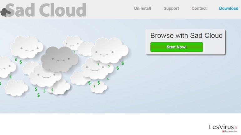 Sad Cloud-Screenshot