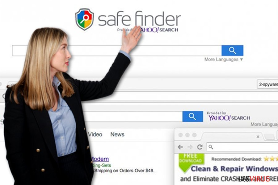 Safe-Finder-Virus-Screenshot