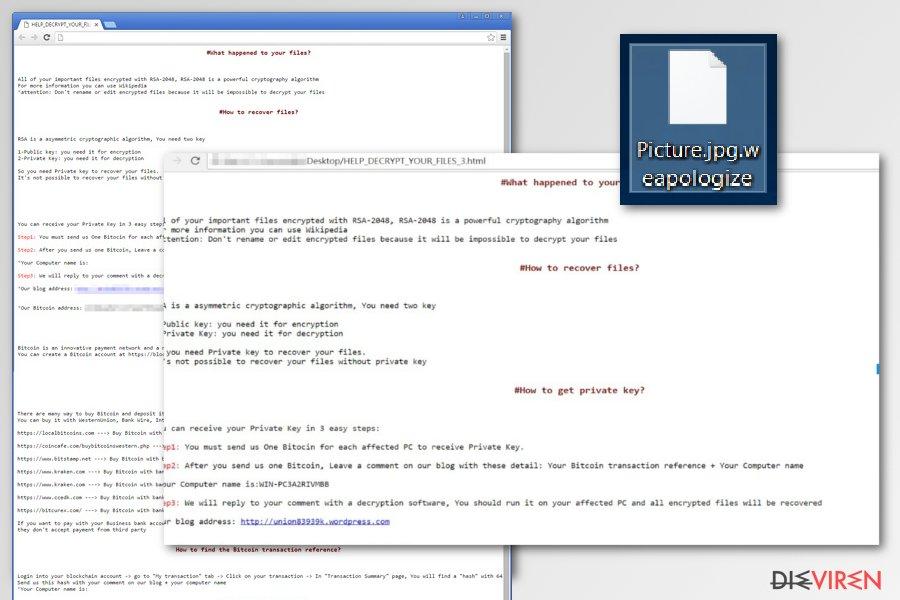 SamSam-Erpressersoftware-Screenshot