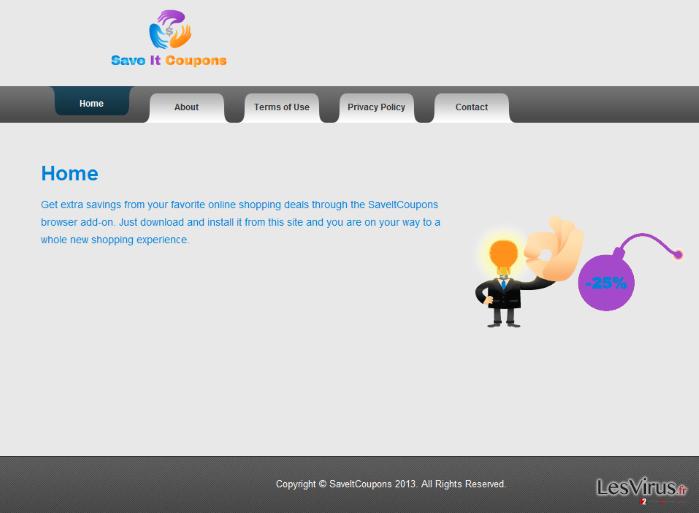 SaveItCoupons-Virus-Screenshot