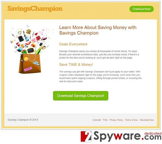 Savings-Champion-Anzeigen-Screenshot