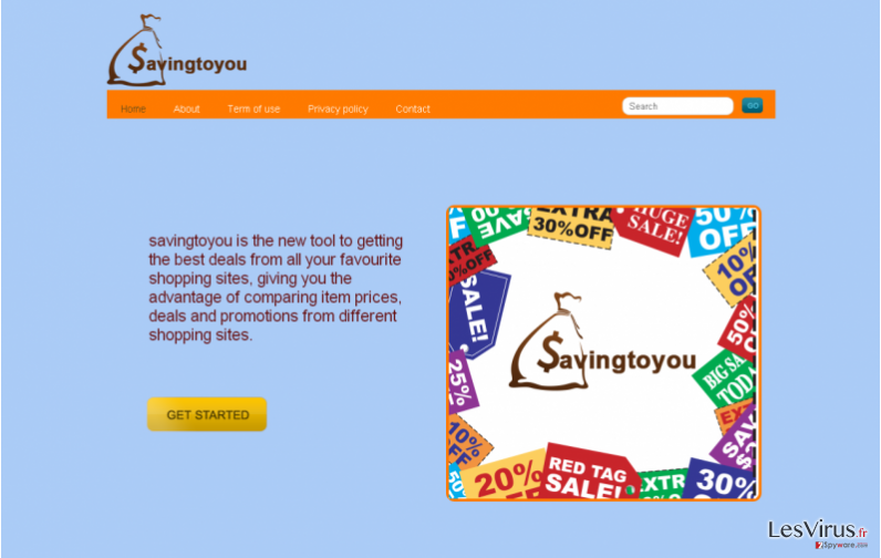 Savingtoyou-Anzeigen-Screenshot