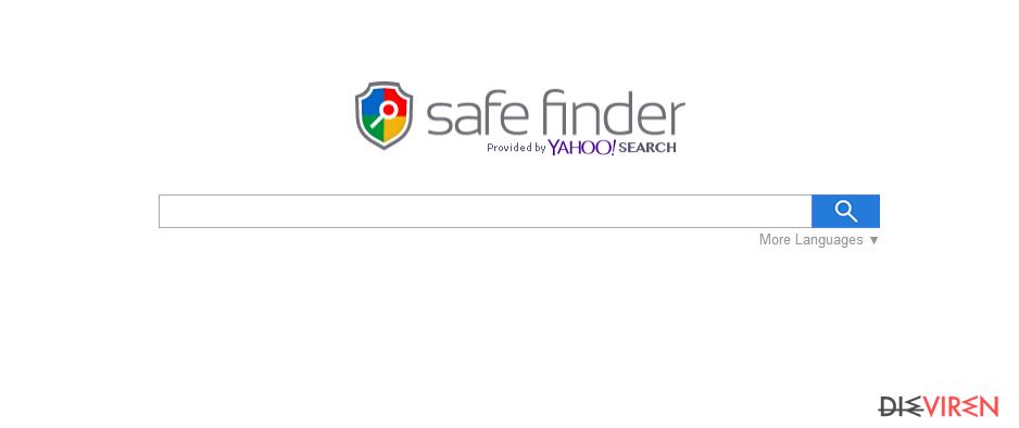 Search.SafeFinder.com-Screenshot
