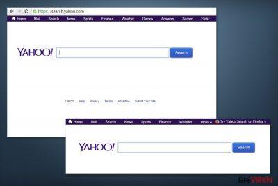 Abbildung search.yahoo.com