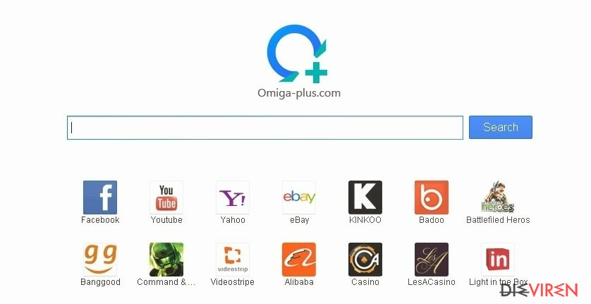 Searches.omiga-plus.com-Screenshot