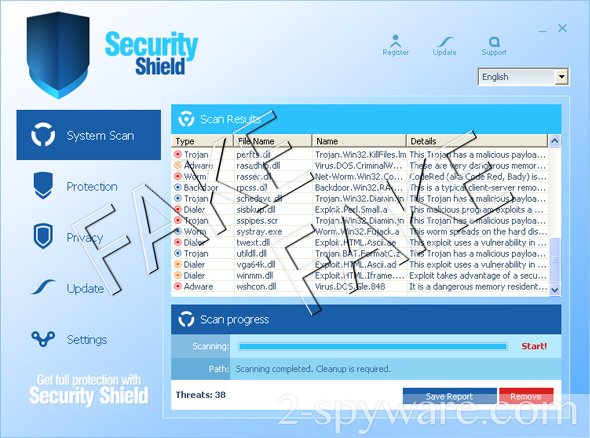 Security Shield-Screenshot