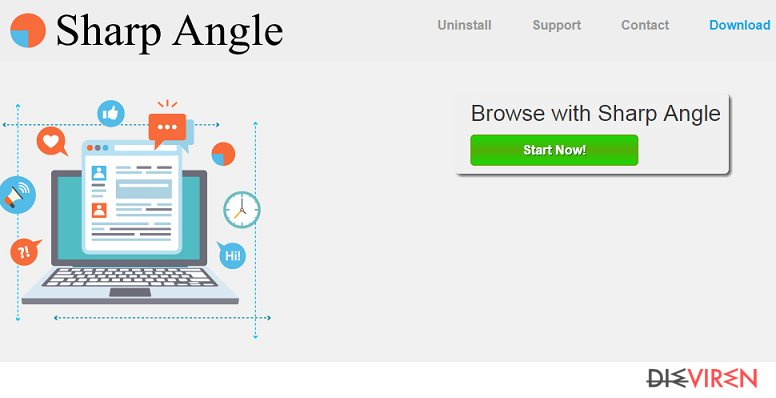 Sharp Angle-Screenshot