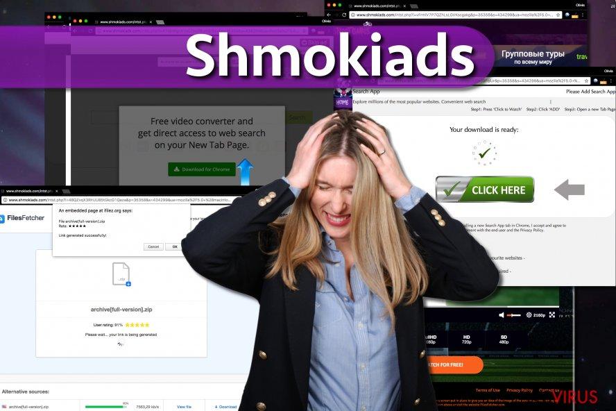 Shmokiads-Schadsoftware