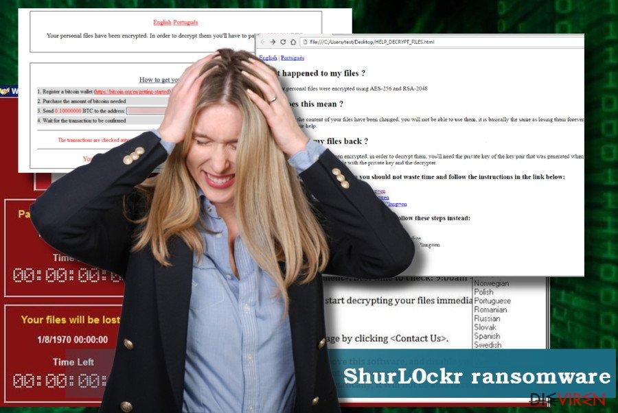 Entfernungsanleitung für den ShurL0ckr-Virus