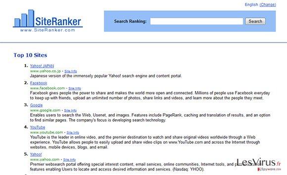 SiteRanker-Screenshot