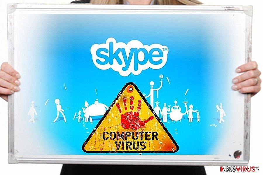 Skype-Virus-Screenshot